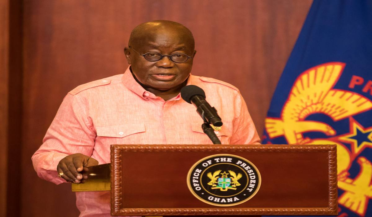 President Akufo-Addo's Address To The Nation On The Dissolution Of The 7th Parliament