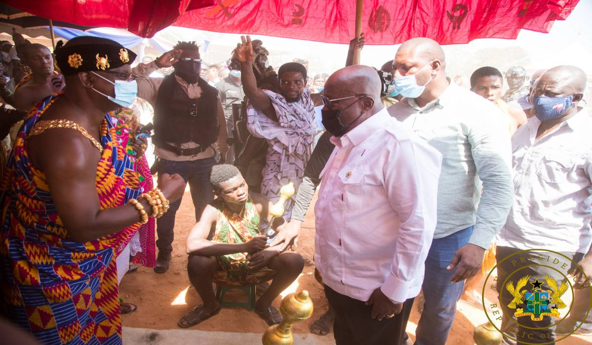 """Ghana's Bauxite Will Benefit All Ghanaians, And Will Not Be Owned By One Person"" – Akufo-Addo"