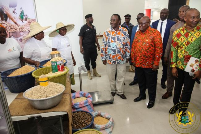 president akufo-addo inaugurates ghana commodity exchange - akufo addo GCX - President Akufo-Addo Inaugurates Ghana Commodity Exchange