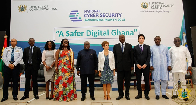 Government Committed To Creating Safe And Secure Cyber Society — President Akufo-Addo - akufo addo NCSAM - Government Committed To Creating Safe And Secure Cyber Society — President Akufo-Addo