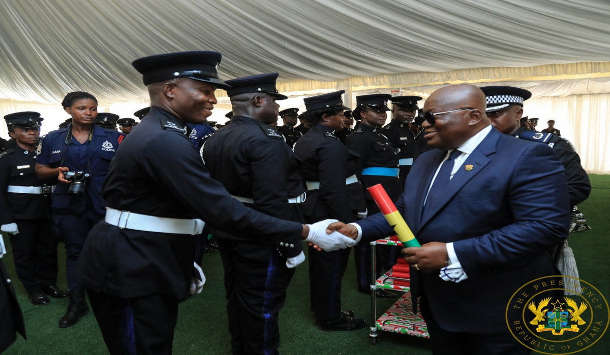 """308 Vehicles To Police Service; 17,418 Officers Promoted In 22 Months"" – President Akufo-Addo"