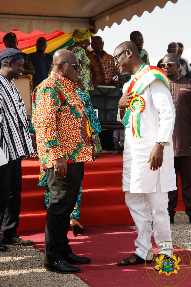 Agricultural Sector Receiving Unprecedented Investment – President Akufo-Addo - akufo addo best farmer - Agricultural Sector Receiving Unprecedented Investment – President Akufo-Addo