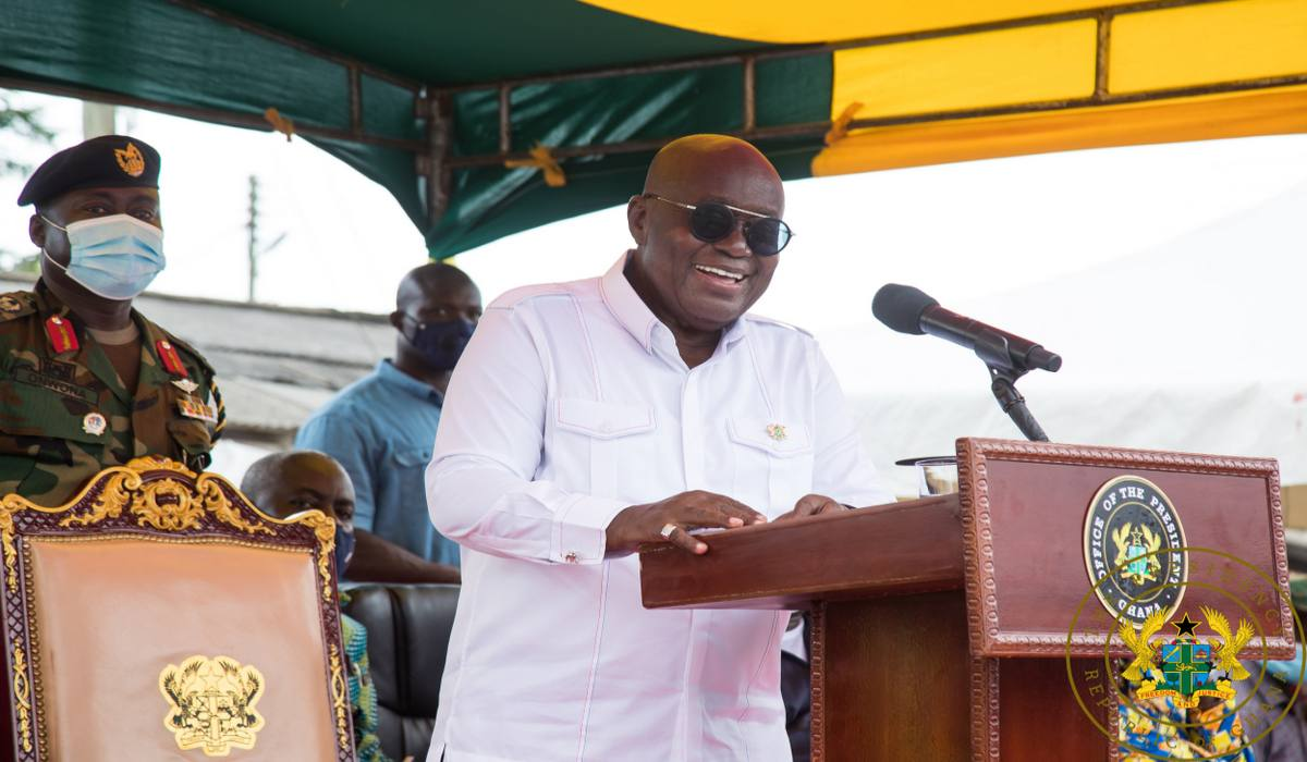 """Give Me Four More Years To Do More For You"" – President Akufo-Addo To Central Region"