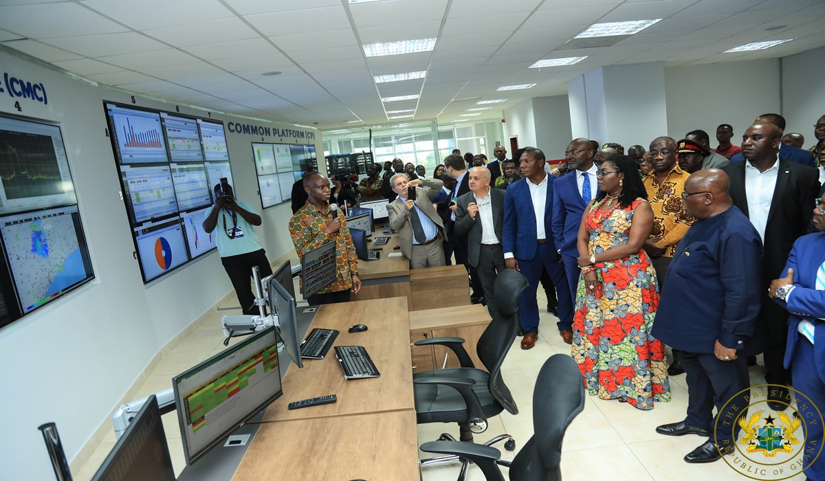 President Akufo-Addo Commissions Revenue Assurance And Traffic Monitoring Centre