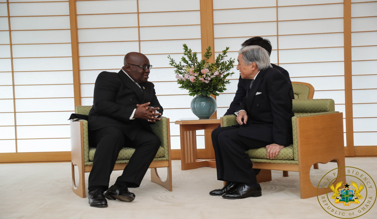 """We Want To Emulate Japan's Success Story"" – President Akufo-Addo"