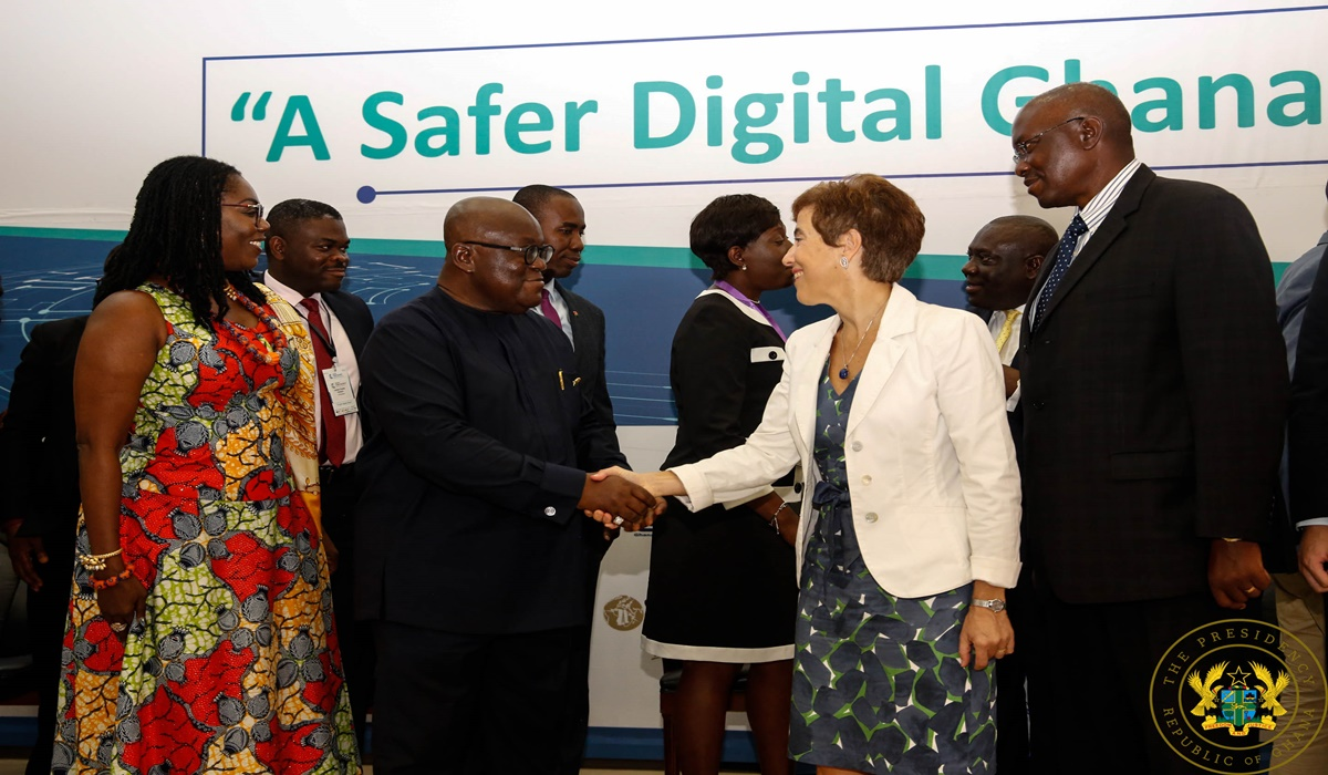 """Gov't Creating Safe And Secure Cyber Society"" – President Akufo-Addo"