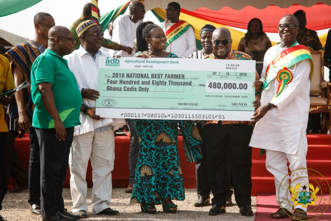 FULL TEXT: President Akufo-Addo's Speech At 34th Annual National Farmers' Day Celebration - akufo addo farmers day - FULL TEXT: President Akufo-Addo's Speech At 34th Annual National Farmers' Day Celebration