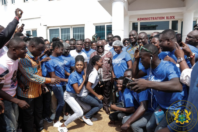 healthilife md to president akufo-addo: thank you for supporting our company - akufo addo healthilife - Healthilife MD To President Akufo-Addo: Thank You For Supporting Our Company