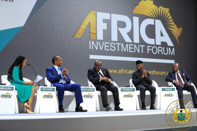 our government facilitating private sector growth — president akufo-addo - akufo addo presidential investment chats - Our Government Facilitating Private Sector Growth — President Akufo-Addo