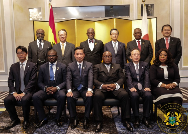Japan Gives Ghana $57 Million Grant For N8 Road Rehabilitation — President Akufo-Addo - akufo addo sumitomo corporation - Japan Gives Ghana $57 Million Grant For N8 Road Rehabilitation — President Akufo-Addo