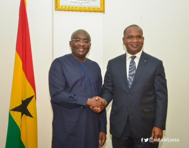 ghana committed to greater cooperation with burkina faso — vice president dr. bawumia - bawumia barry - Ghana Committed To Greater Cooperation With Burkina Faso — Vice President Dr. Bawumia