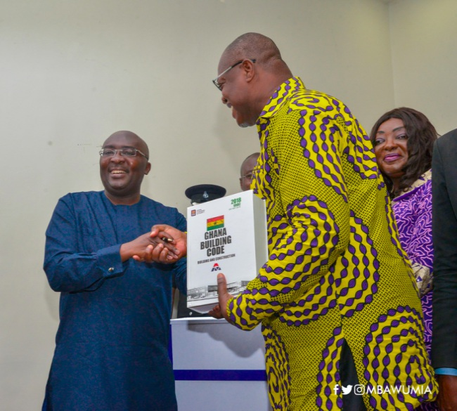 Ghana's First-ever Comprehensive Building Code A Game Changer — Vice President Dr. Bawumia - bawumia code - Ghana's First-ever Comprehensive Building Code A Game Changer — Vice President Dr. Bawumia