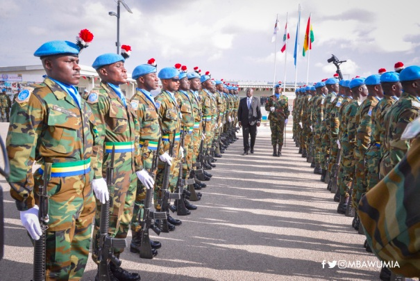 Vice President Dr. Bawumia Celebrates UN Medal Day With Peacekeepers In Lebanon - bawumia guard lebanon - Vice President Dr. Bawumia Celebrates UN Medal Day With Peacekeepers In Lebanon
