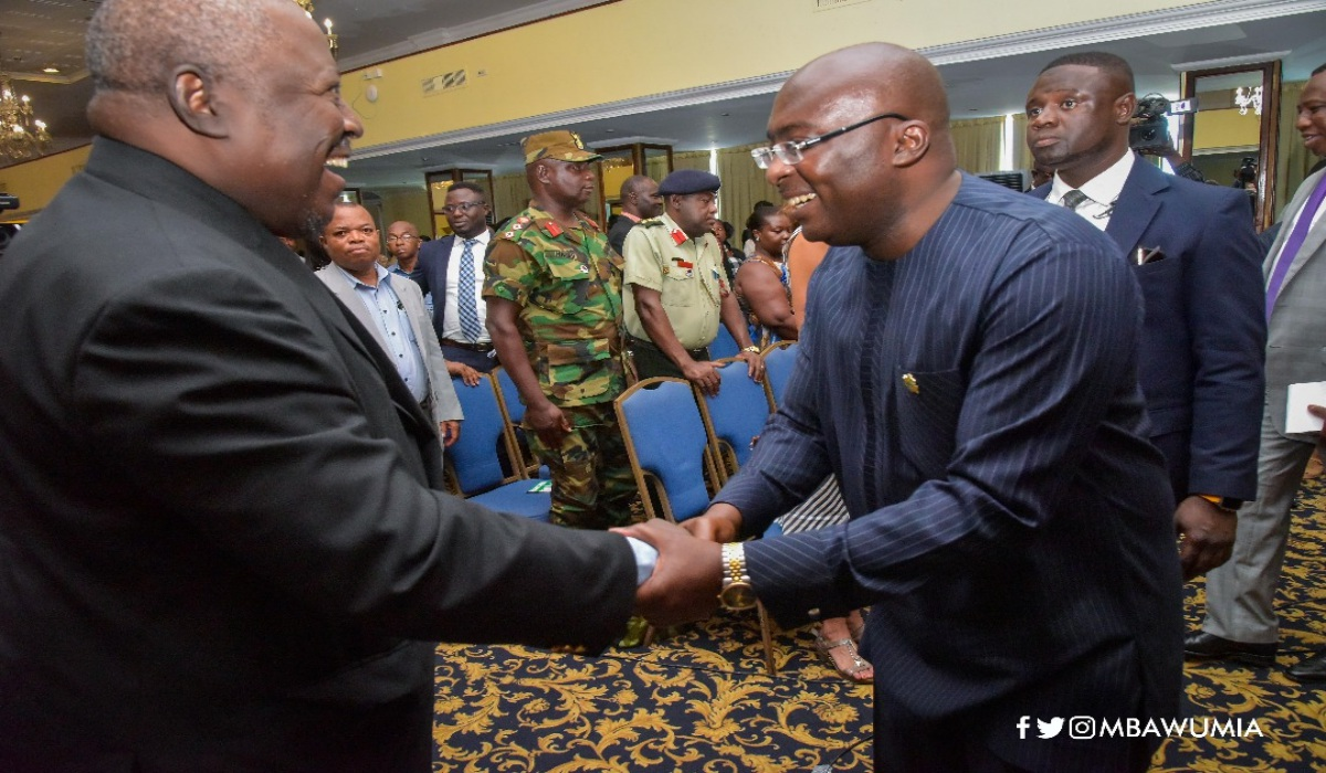 """Reforming Systems To Reduce Human Interfaces Key To Fighting Corruption"" - Veep Bawumia"
