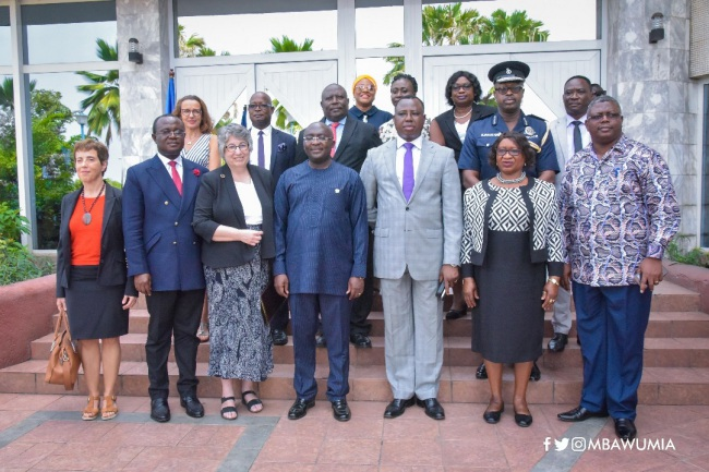 Reformation To Reduce Human Interfaces Key To Fighting Corruption — Vice President Dr. Bawumia - bawumia martin - Reformation To Reduce Human Interfaces Key To Fighting Corruption — Vice President Dr. Bawumia