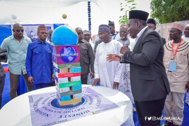 eschew violence; it only retards our progress — vice president dr. bawumia - bawumia peace - Eschew Violence; It Only Retards Our Progress — Vice President Dr. Bawumia
