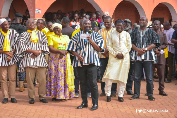 Referendum: Political Parties United For North East Region - bawumia political parties - Referendum: Political Parties United For North East Region