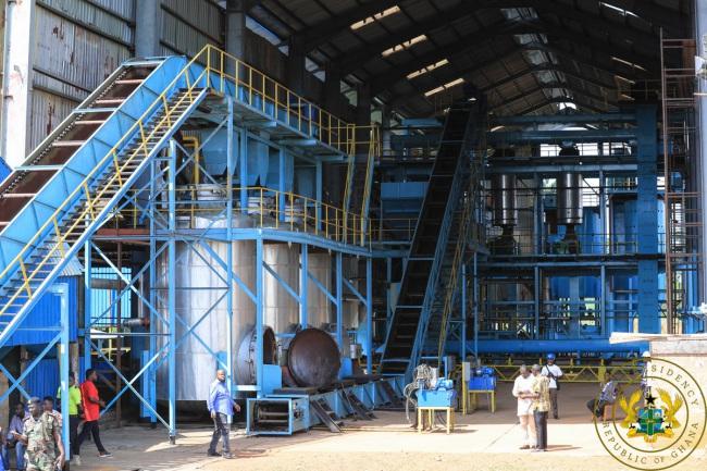 President Akufo-Addo Commissions Akim Oda- Winneba Water Supply Project & Inspects 1D1F Project In Birim - birim oil mills - President Akufo-Addo Commissions Akim Oda- Winneba Water Supply Project & Inspects 1D1F Project In Birim