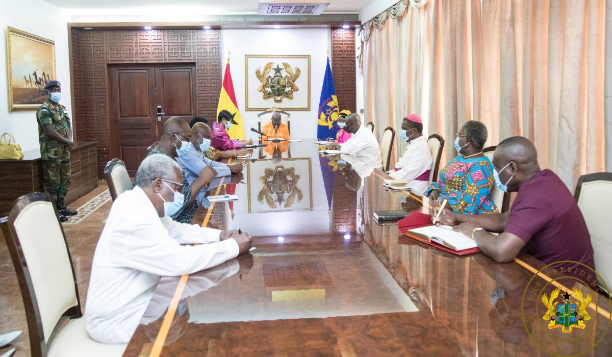 President Akufo-Addo Inaugurates Board Of Trustees For The Covid-19 National Trust Fund