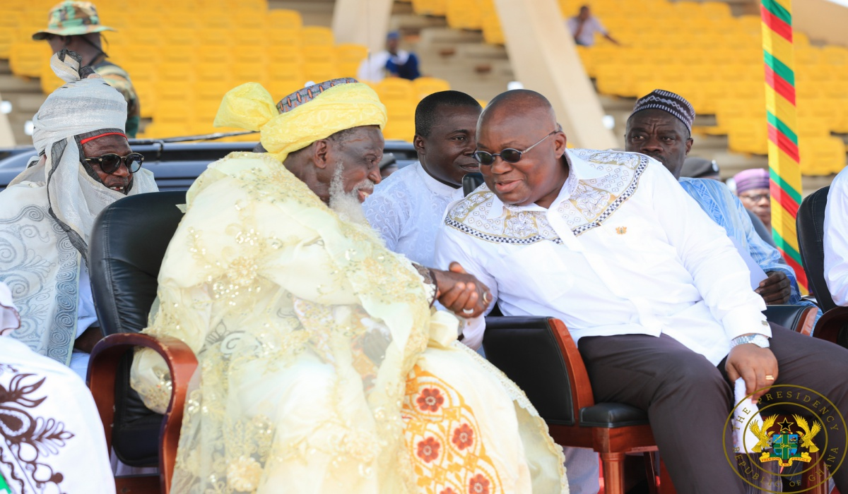 """8cb7ae9751 """"Government Committed To The Welfare Of Muslim Communities"""" – President  Akufo-Addo"""